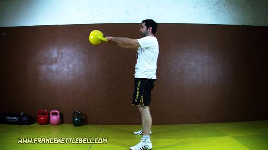 Kettlebell Swing à deux mains