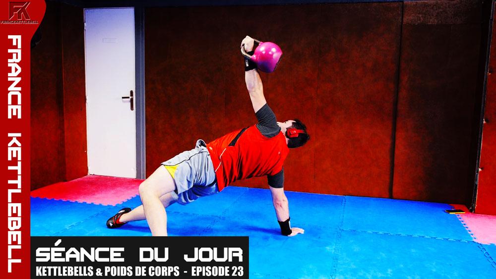Musculation : Programme kettlebells et poids de corps - Ep.23