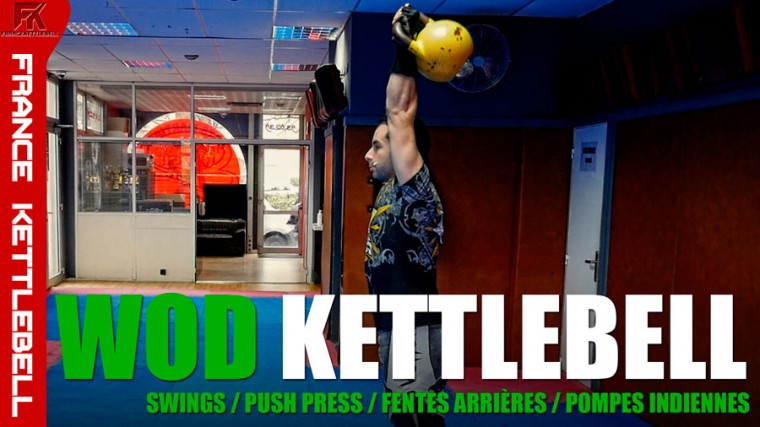 WOD Kettlebell EXPRESS 5 min – épisode 5