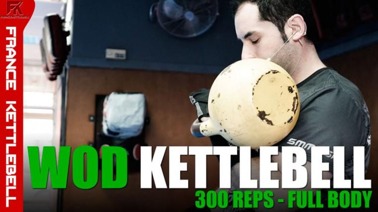 WOD Kettlebell 300 Reps Full Body